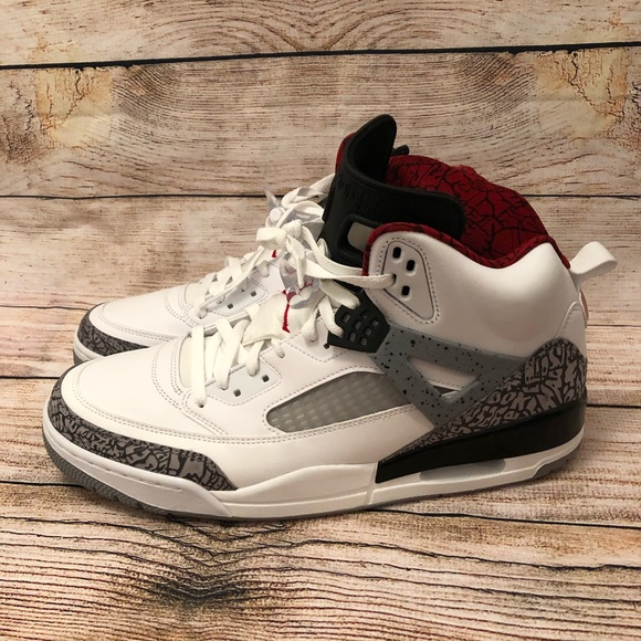 best sneakers 8a88d 53149 Nike Air Jordan Spizike White Cement-Grey Retro